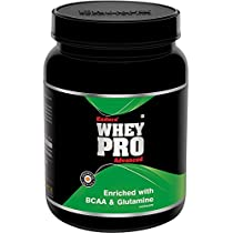 Endura Whey Pro Advanced enriched with BCAA & Glutamine   Whey Protein 60g Protein per 100g, (1 Kg, Chocolate)