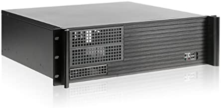 iStarUSA D Value D-313SE-MATX No Power Supply 3U Compact Rackmount Server Chassis (Black)