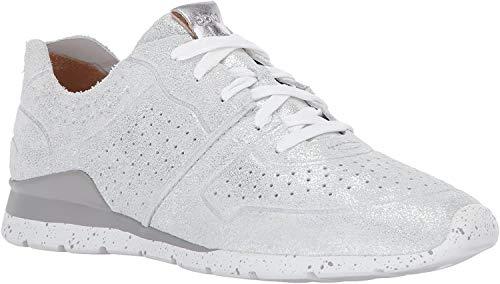 UGG Damen 1019058 Slvr Tye Stardust Sneaker, Silber (ALMOND), 35 EU