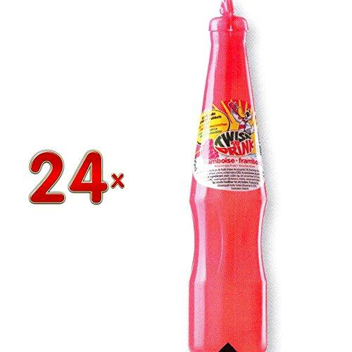 Twist and Drink Framboise 24 x 200 ml Flasche (Erfrischungsgetränk mit Himbeergeschmack)