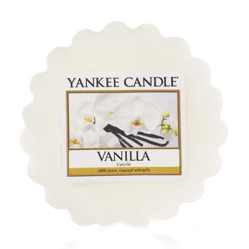 Yankee Candle geurende was, plastic, wit, 5,8 x 5,7 x 1,7 cm