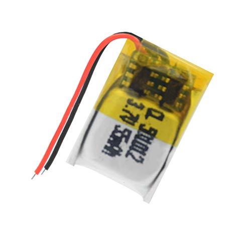 YUJNH 1/2/4 piezas 501012 Lipo batería 3.7V 55 mAh batería de iones de litio para ratón inalámbrico Mini ventilador GPS control remoto 1 unidad