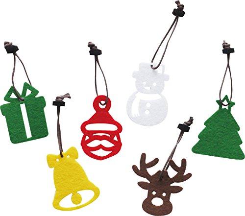 現代百貨オーナメントクリスマスモチーフSET6K710