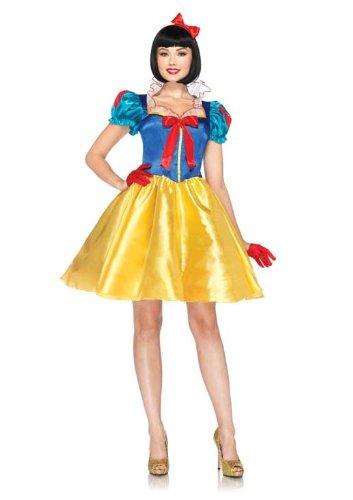 Leg Avenue Costumes Disney 2Pc.Classic Snow White Dress