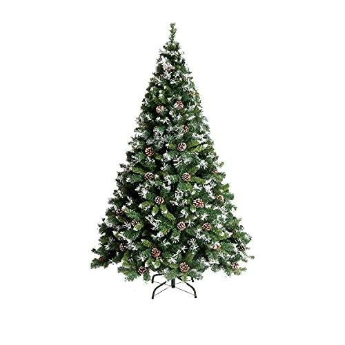 Schneeflocke Weihnachtsbaum Fallender Schnee Kleiner Nackter Baum Haushaltsdekoration Automatischer Künstlicher Baum Fallender Schnee Simulation Kiefer Baum Schneiender Baum Metallstütze Spitze Weihna