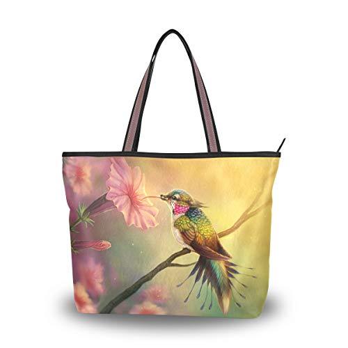 Eslifey - Bolso de tela para mujer multicolor M