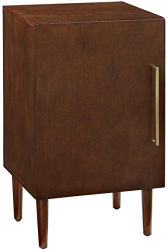 Crosley Möbel Everett Plattenspieler Kabinett im Mid-Century Retro Design, Mahagoni