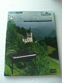 Sacred Favorites 2 Early Level Repertoire with one Diskette - Yamaha ClaviSoft - CueTIME - MusicSoft - for use with Yamaha Guide Function only - for Clavinova models CVP-92, 94, 96, 98, 103, 105, 107, 109, and Disklavier models with SmartKey