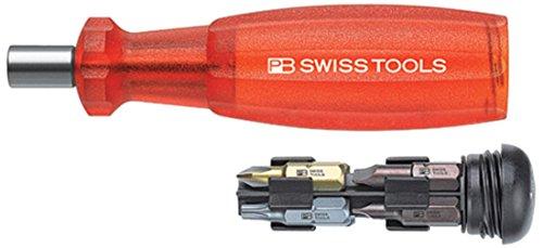 PB Swiss Tools PB 175//0 Rojo 12,5 cm Amarillo Destornillador de Electricista Destornillador de Electricista