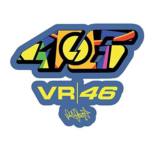 Pegatinas reflectantes para casco de moto Valentino Rossi VR46