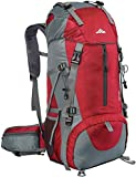 Seenlast 50L Unisex Travel Hiking Backpack Outdoor Sport Daypack Water-Resistant Bag for Climbing