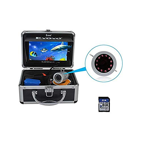 Eyoyo Fishing Camera Video Fish Finder 7 inch LCD Monitor 1000TVL...