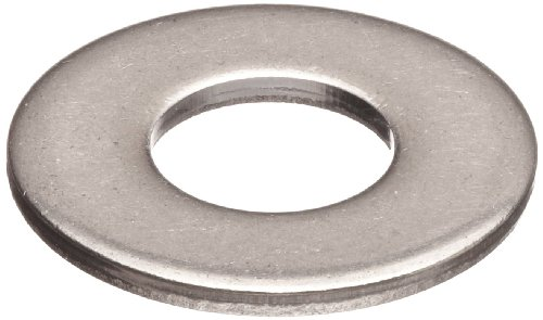Small Parts Z0623-316 Stainless Steel Flat Washer, 1' Hole Size, 1.063' ID, 2' OD, 0.11' Nominal Thickness, Made in US (Pack of 5)