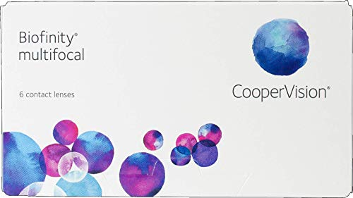 Biofinity multifocal - [D-Profil] Monatslinsen weich, 6 Stück, BC 8.6 mm/DIA 14.0 mm/ADD +1.00 D / -5 Dioptrien