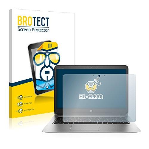 BROTECT Schutzfolie kompatibel mit HP EliteBook Folio 1040 G3 Touch klare Bildschirmschutz-Folie