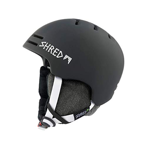 Shred SLAM-Cap NOSHOCK Slash Helm, Black, S