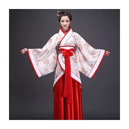 Traje Tradicional Chino Hanfu Ao Nuevo Disfraz Tang Adulto Actuacin Hanfu Cheongsam Femenino Ropa para Nias Mayores,Small