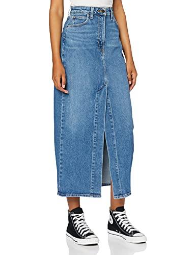 Lee Ultra Long Split Skirt Jupes, Vintage Lewes, 25 Femme