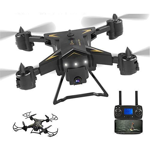 HUAXM GPS Drone, avec 4K Caméra 5G WiFi FPV RC Quadcopter pour Adultes Auto Retour Accueil Fonction Follow Me avec Portable Pliable Drones pour Les débutants