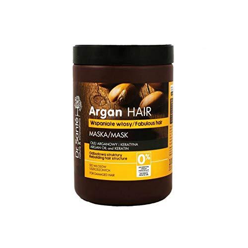 Dr. Sante Argan Haarmaske für geschädigtes Haar mit intensiver 3-Schritt-Regeneration mit Keratin, 1000ml