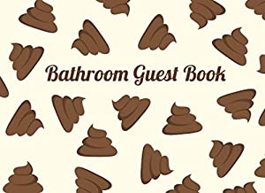 Bathroom Guest Book: Funny Housewarming / White Elephant Gift Idea   Poop Cover