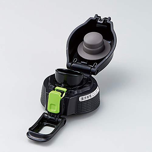象印 (ZOJIRUSHI) クールボトルせんセット 水筒 直飲み スポーツタイプ ライムグレー SD-S10F-HG
