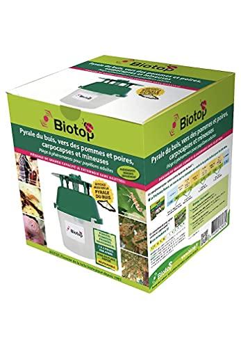 Biotop - Piège entonnoir : papillons (mineuse, carpocapses)