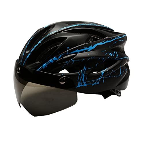 HSJ Casco De Bicicleta Y Patinete para Adulto, Unisex Adulto, Ajustable Casco De Ciclismo para Adultos, Bicicleta De Montaña Casco De Ciclismo La Seguridad Al Aire Libre Multiuso Cascos,Style5