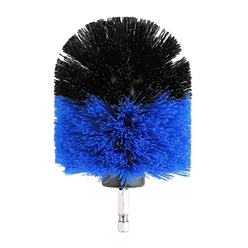 Floor Polishing Brush, Wilecolly Tile Grout Cleaner Power Scrubber Bathtub Toilet Drill Brush Carpet Cleaning Tool Attachment(3.5英寸)