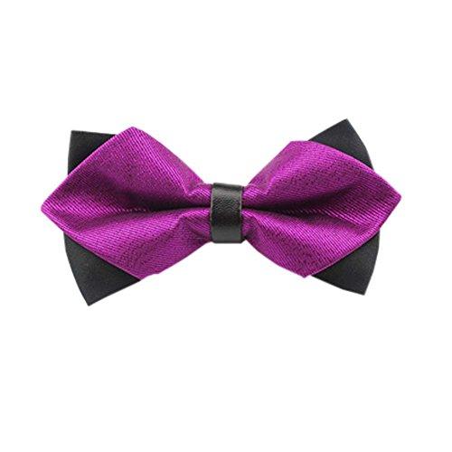 Black Temptation De Haute qualité des Hommes d'affaires Bowties de soirée de Mariage Bow Tie,18