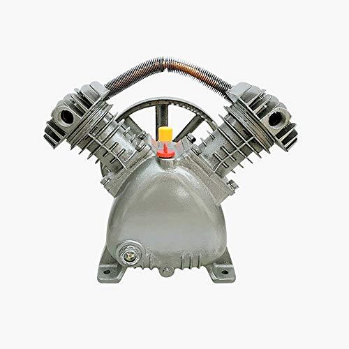 Stoge Cabezal De Bomba De Dos Cilindros del Compresor De Aire, Accesorios Culata 1.1KW Bomba De Aire Universal, Compresor De Aire Pequeño De 13 Kg