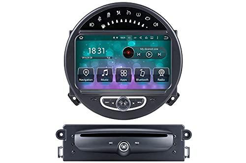 Mini Cooper 2006-2014 actualización de radio con 8 pulgadas Android 10 navegación 4GB RAM 64gn memoria 8-core procesador