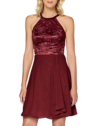 Vera Mont VM Damen 0069/4825 Cocktailkleid, Carmine Red, 42