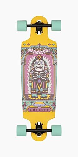 Landyachtz Drop Carve Longboard Complete and Colors 33quot  Drop Cat Illuminacion