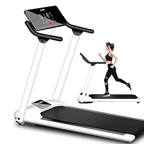 Household Foldable Treadmill, Folding Treadmill Motorised Running Jogging Walking Portable Gym Equipment Small Multifunctional Mechanical Walking Machine