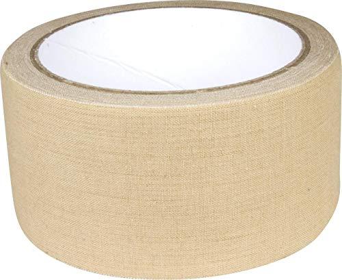 Web-tex - Textil-Tarnklebeband - äußerst strapazierfähig - 10 m - Sandfarben