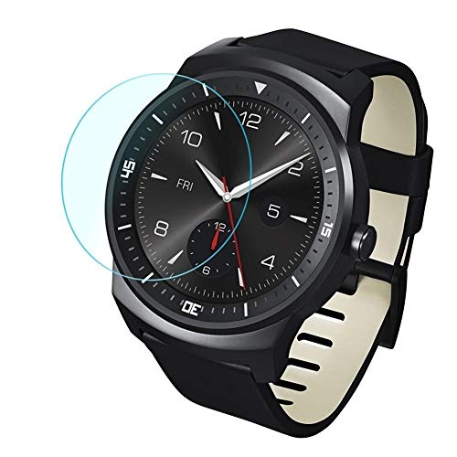 LPER Armbanduhr Displayschutzfolie Screen Protection 0.26mm 2.5D Ausgeglichenes Glas-Film for LG G Watch R W110