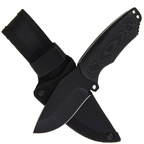 g8ds® Outdoormesser Fahrtenmesser Stubby Micarta inkl. Etui