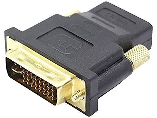 Adapter 24+5-polig DVI-Stecker/HDMI-Buchse vergoldet