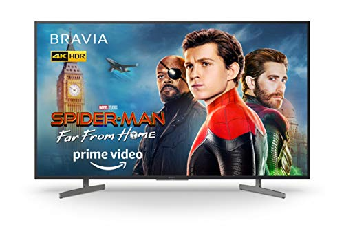 Sony BRAVIA KD55XG81 55 Inch 4K LED Android Smart TV HDR Ultra HD with Voice Remote - Black (2019 Model)