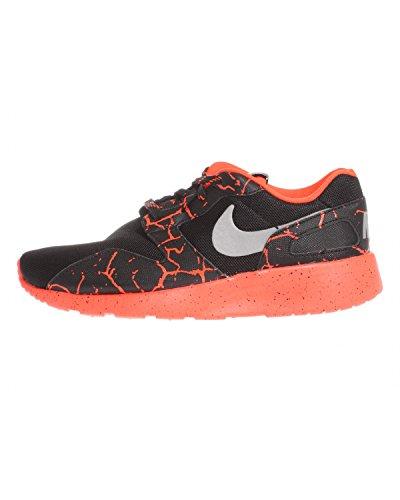 Nike Kaishi Lava (GS), Chaussures de Running garçon, Noir/argenté/Rouge (Noir/argenté métallique-Pourpre Total), 36 1/2