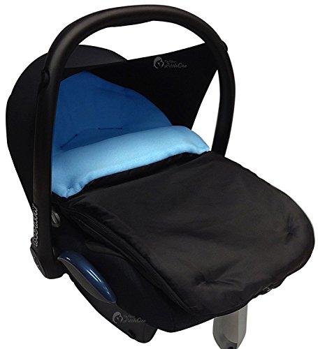 Asiento de coche para saco/Cosy Toes Compatible con Tippitoes, color turquesa