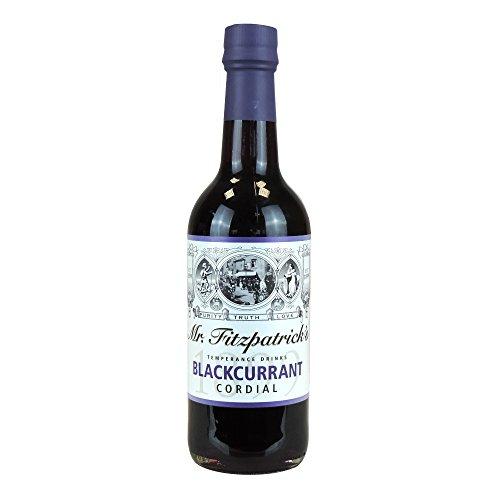 Mr Fitzpatrick's Schwarzer Johannisbeer-Sirup