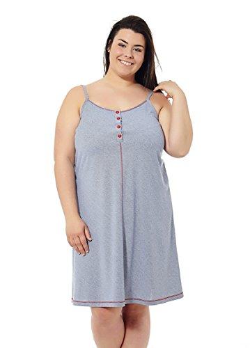 Sommer-Damenkleid. Strandkleid Verschiedene Prints. Übergrößen Mabel Big&Beauty. Größe 58.