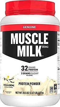 Muscle Milk Genuine Vanilla Creme Protein Powder, 2.47 Pound