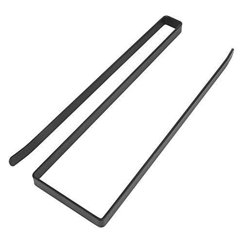 Portarrollos De Cocina, Soporte Papel Cocina Sin Perforación rollo de papel toalla de papel titular dispensador bajo armario Rack soporte 26 X 1,3 X 10 Cm
