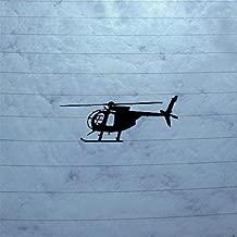 BIKE CAR DECOR DECORATION WALL MACBOOK DIE CUT VINYL BLACK STICKER HELMET WALL ART WINDOW ART CAR ADHESIVE VINYL AUTO NOTEBOOK HOME DECOR MD 500D HUGHES HELICOPTER LAPTOP