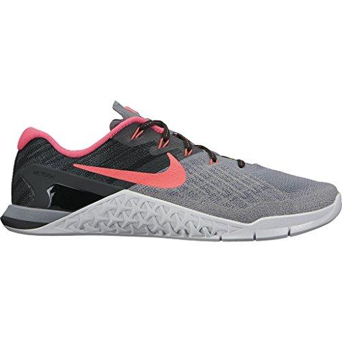 Nike Womens Metcon 3 Training Shoe COOL GREY/SOLAR...