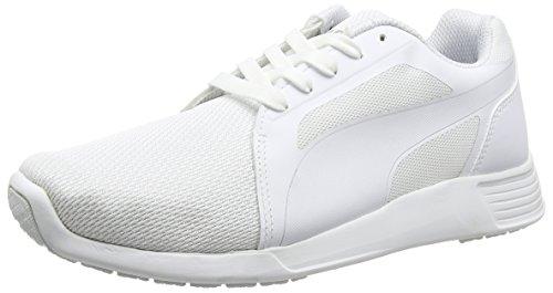 Puma Unisex-Erwachsene ST Trainer Evo Tech Low-Top, Weiß (white-white-white 06), 46 EU