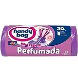 opaco 50/x 70/cm Handy bag 4/rollos de 20/bolsas de basura 30/L azul antigoteo protecci/ón Active antibacteriana cierre con bridas